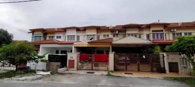 FACING OPEN 2 Storey Terrace Seri Pristana Saujana Utama BELOW MARKET