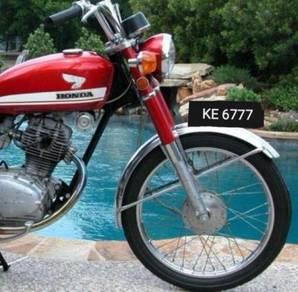 Honda CB100 tahun 1974 Ke 6777