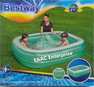 Bestway Family Kids Pool Kolam Mandi Budak