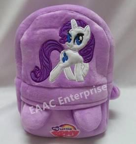 Pony Purple Backpack School Bag Beg Sekolah (S)