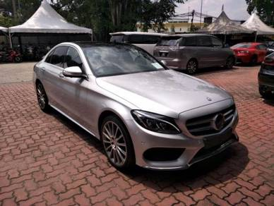 2015 Mercedes Benz C200 MAXIMUM AMG SPEC 2.0 (A)