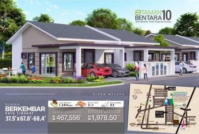 New 1 Storey Semi D House [37.5' x 67.8'- 68.4']