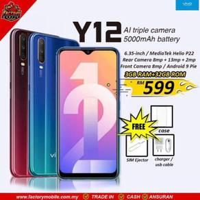 NEW Vivo Y12 [3+32] 5000mah battery