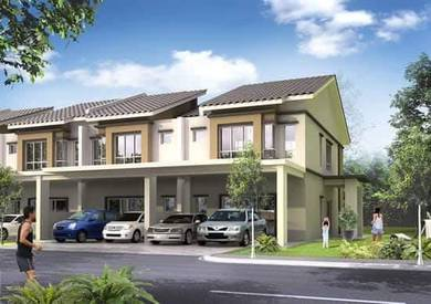 NEW&BIG Double Storey House 0 Deposit 100% Loan Freehold Port Dickson
