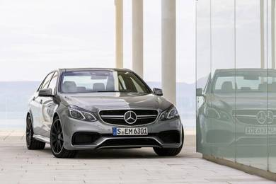 Mercedes Facelift EClass W212 E63 AMG Front Grille