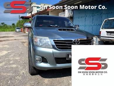 2012 Toyota HILUX 2.5 G VNT(A)FRE MOTOR BARU+BULAN