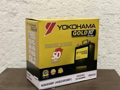 Ns60 ns60l yokohama bateri vios civic saga iriz