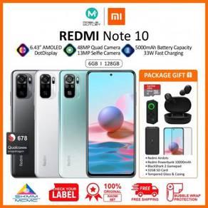 Redmi Note 10 6GB/128GB (Original Xiaomi Msia)