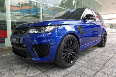 Range rover sport svr 2014 estoril blue
