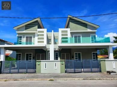 2 storey SEMI-D FREEHOLD Klebang Ipoh Tasek Chemor