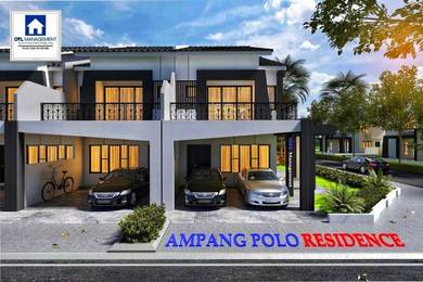 Ipoh Ampang the only New Project ~ Double Storey Terrace House