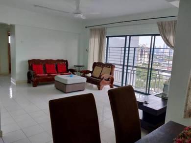 Tiara Ampang Condominium 3R2B Fully Furnished for Rent