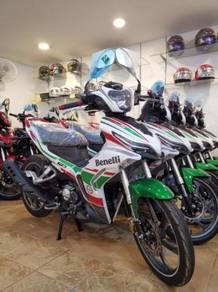 Benelli RFS 150 LE loan kedai dp rendah readystock