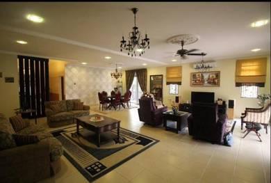 Partly Furnished   2 Storey Semi-D Kota Kemuning Shah Alam