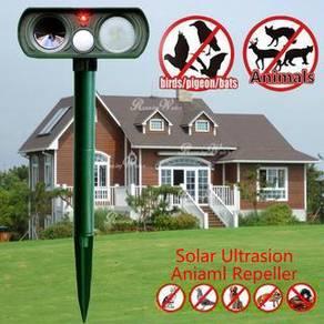 NEW Solar Ultrasonic Animal Repeller Home Garden