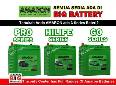 AMARON Car Battery Bateri Kereta NS40 NS60 NS70