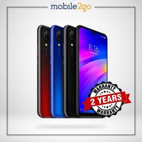 Redmi 7 [16GB/32GB/64GB ROM] International Set