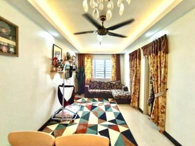 PARTLY FURNISH, CANTIK Apartment Selayang Mulia, Selayang