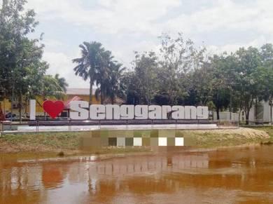 ( Land )Main Road Frontage Senggarang Town