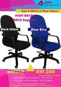 High Back Neck Support Cushion Chair Type H