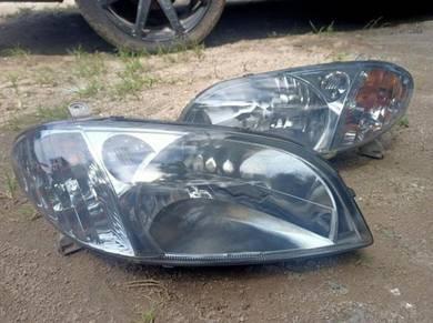 Headlamp vios ncp42 2003_2005