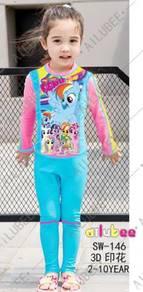 Baju renang swimsuit Long Sleeves SW146 PONY