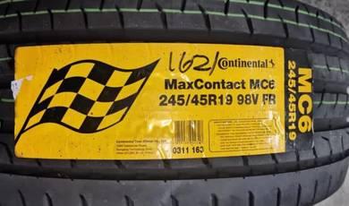 Promosi Tayar 245/45/19 Continental MC6 2021