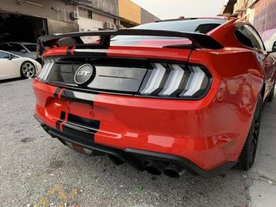 Ford Mustang carbon fiber GT spoiler mustang GT500