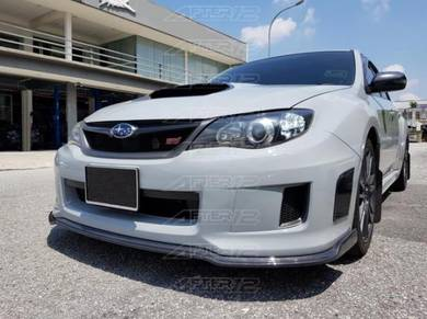 Subaru Impreza V10 GVB Carbon add on lip skBodykit