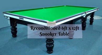 Snooker Table 6ft x 12ft Reconditioned