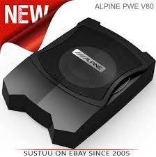 """Alpine PWE-V80 Car 8"""" Powered Enclosed Subwoofer"""