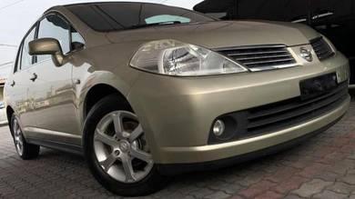 Nissan LATIO 1.6 (A) Premium 69K km Service Record