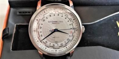 Stuhrling Prestige Men's Traveler Watch