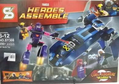 Bricks - SY 308 Marvel X-Men Vs Sentinel (Xmen)