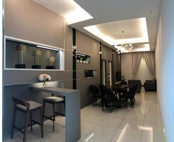 Taman daya condominium deposits only 2k no legal fees and full loan