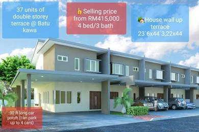 NEW LARGE Double Storey Terrace & Semi D House at Jalan Kawa