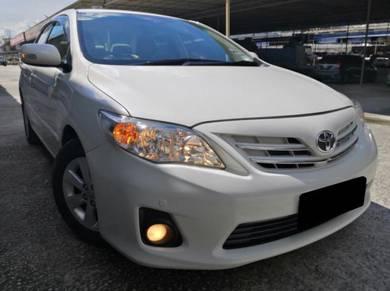 Toyota Altis 1.6 E DUAL VVTI (A) FACELIFT