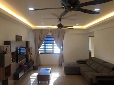 Apartment for sale renovated unit at Taman Puteri Johor Bahru