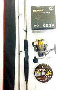 Pioneer rod combo exori impact 4000