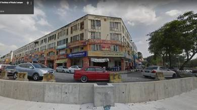 Apartment Shop Lot For Sale Jalan Megan Setapak Full Loan