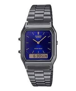 Watch- Casio Men Dual Time AQ230GG-2-ORIGINAL