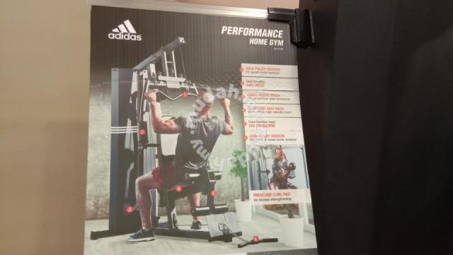 Adidas home gym station sports & outdoors for sale in penang hill