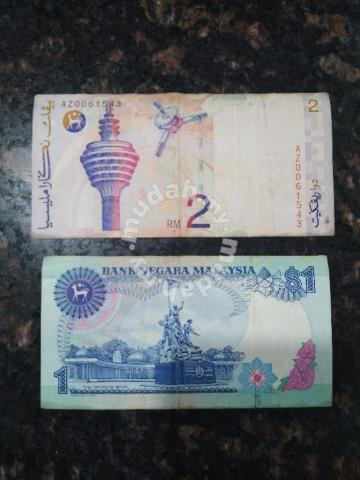 Old money for sell rm1 and rm2