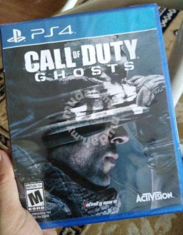 New And Sealed Ps4 Game Call Of Duty Ghosts Ghost Games Consoles For Sale In Others Perakfacebookwhatsapptwitteremailcopy Linkaddthis