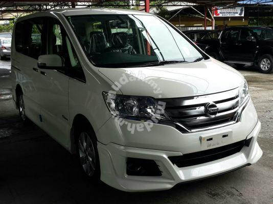 nissan serena impul bodykit with paint spoiler - car accessories