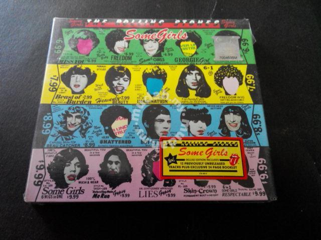 THE ROLLING STONES-SOME GIRLS 2-CDS DELUXE Edition -  Music/Movies/Books/Magazines for sale in Ampang, Selangor