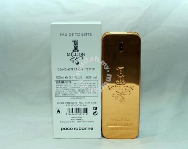 918eb2ba55a57 PERFUME TESTER (Paco Rabanne 1 Million) 100ml EDT - Health   Beauty for sale  in Ipoh