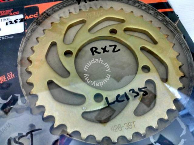 Bikers Sprocket & Chain set LC135 / Y125Z / RXZ - Motorcycle