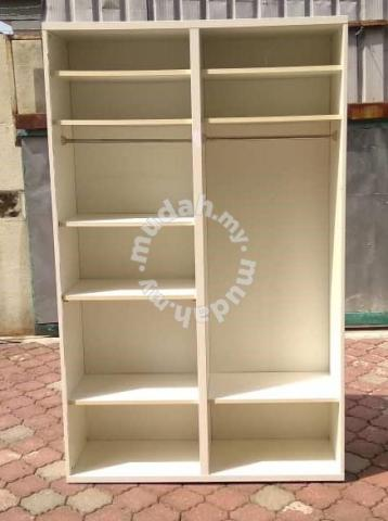 Wardrobe Frame IKEA PAX White * M72 F - Furniture & Decoration for sale in  Cheras, Kuala Lumpur