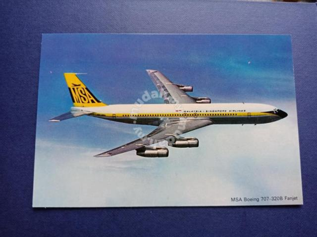 Vintage Postcard Malaysia Singapore Airlines PX030 - Hobby & Collectibles  for sale in Saujana Utama, Selangor